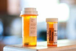 Two Medicine Bottles