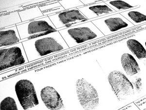 Finger print records