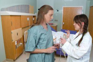 registered nurse and doctor